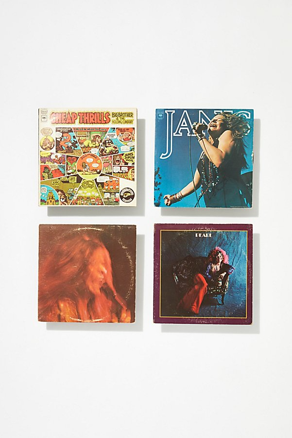 Slide View 2: Vintage Janis Joplin Record Collection