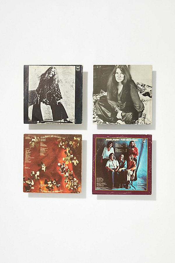 Slide View 3: Vintage Janis Joplin Record Collection
