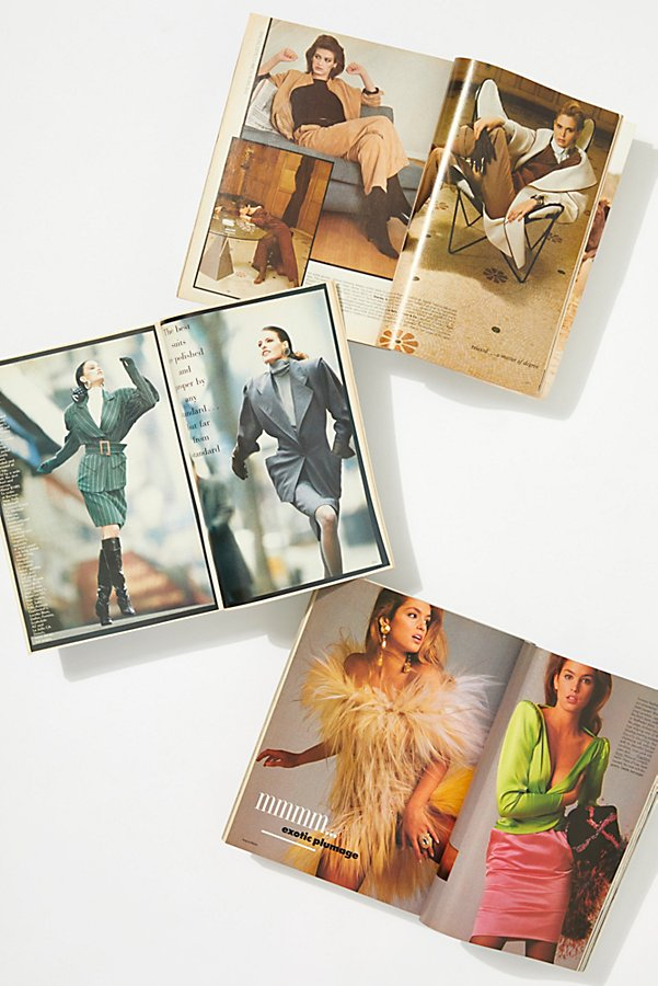Slide View 3: Vintage 1980s Vogue Collection