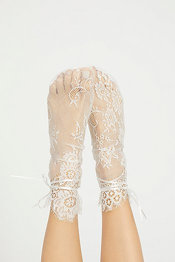 Margot Lace Crew Sock
