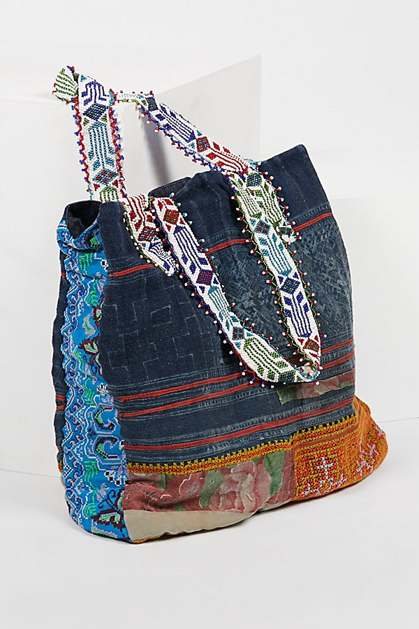 Slide View 1: Technicolor Embellished Tote