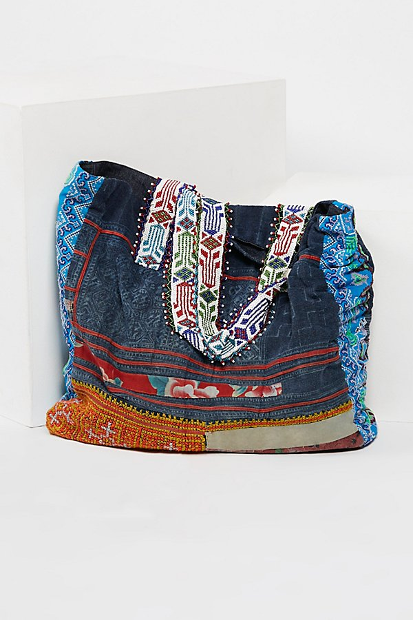 Slide View 3: Technicolor Embellished Tote