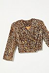 Thumbnail View 1: Vintage 1980s Cropped Leopard Jacket