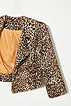 Thumbnail View 3: Vintage 1980s Cropped Leopard Jacket