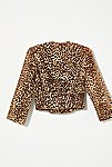 Thumbnail View 4: Vintage 1980s Cropped Leopard Jacket