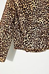 Thumbnail View 5: Vintage 1980s Cropped Leopard Jacket