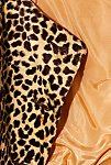 Thumbnail View 6: Vintage 1980s Cropped Leopard Jacket