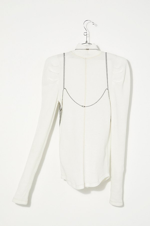 Slide View 3: Vintage 1970s Ball Chain Top