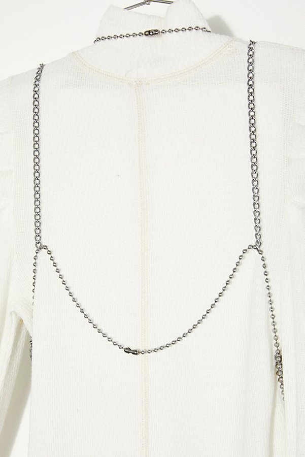 Slide View 4: Vintage 1970s Ball Chain Top