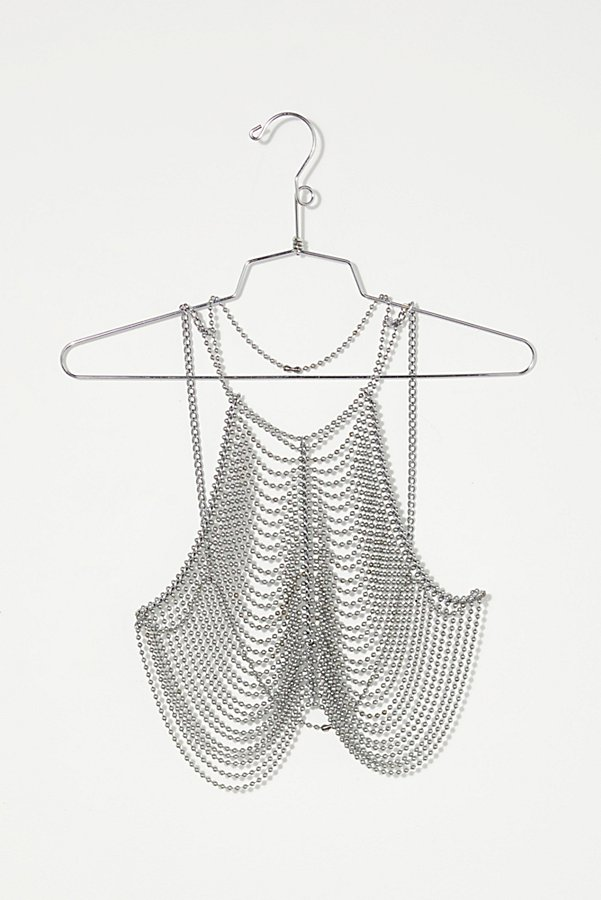 Slide View 5: Vintage 1970s Ball Chain Top