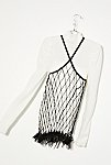 Thumbnail View 4: Vintage 1980s Beaded Net Top
