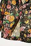 Thumbnail View 2: Vintage 1960s Metallic Floral Shirt