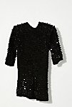Thumbnail View 3: Vintage 1980s Knit Sequin Tunic