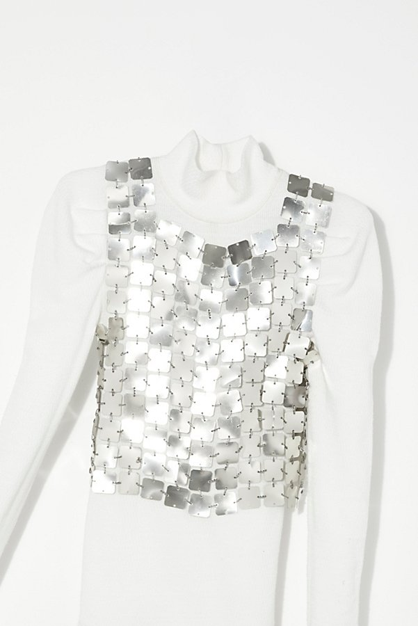 Slide View 2: Vintage 1960s Paco Rabbane Top