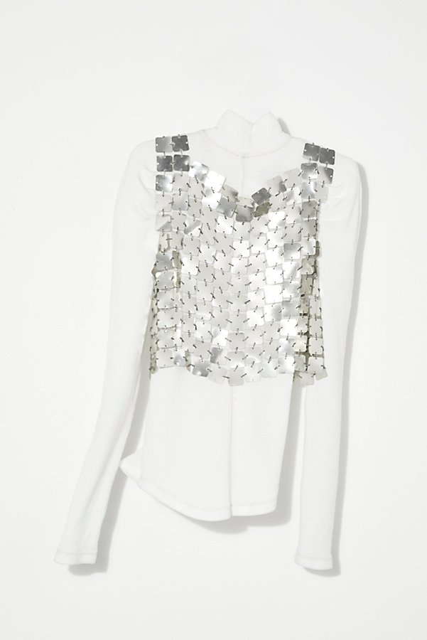 Slide View 4: Vintage 1960s Paco Rabbane Top