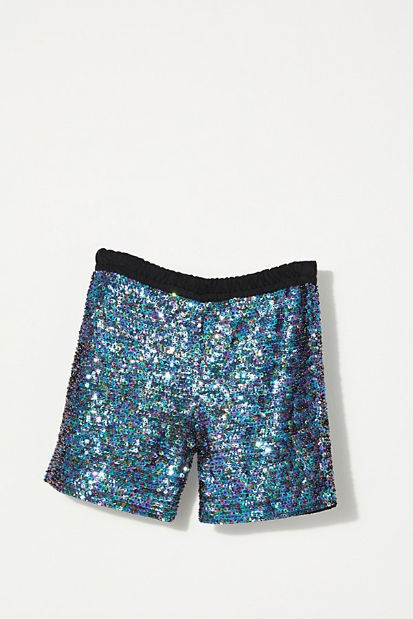 Slide View 1: Vintage 1960s Beaded Hot Shorts