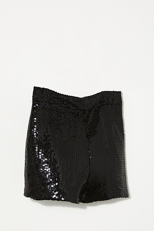 Slide View 3: Vintage 1980s Christian Dior Sequin Shorts