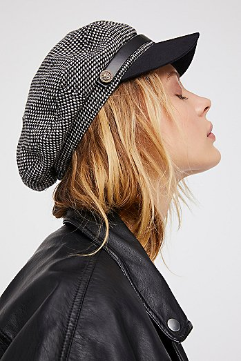 Wake Up Call Herringbone Lieutenant Hat