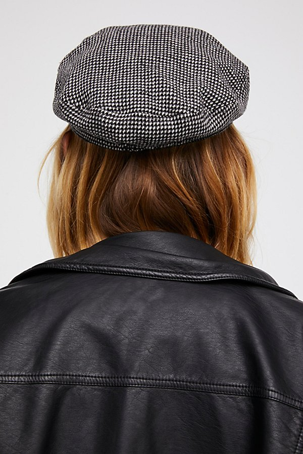 Slide View 3: Wake Up Call Herringbone Lieutenant Hat