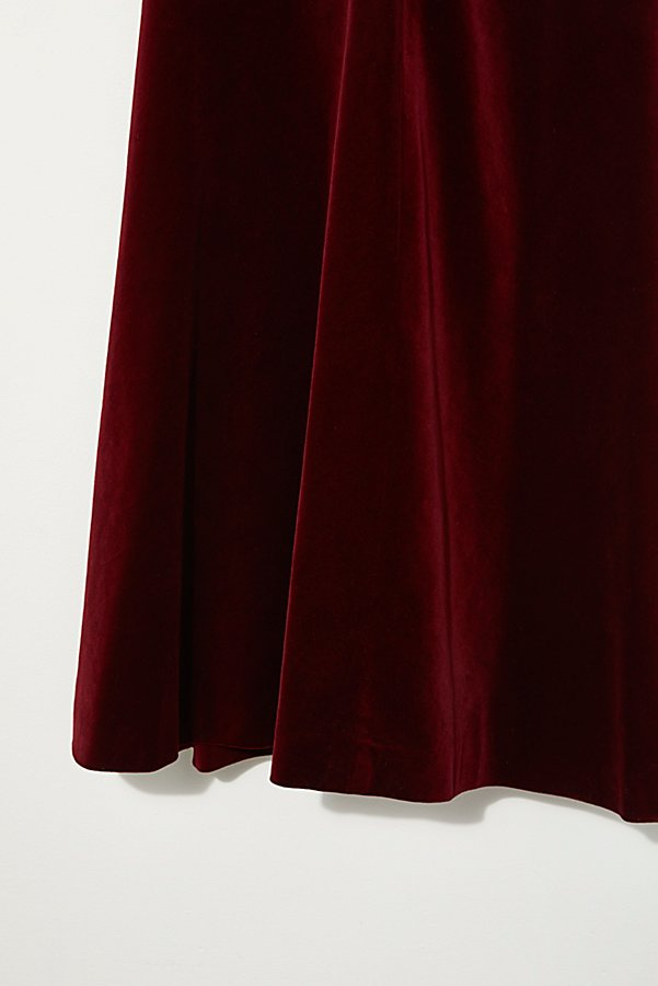 Slide View 3: Vintage 1970s Velvet Party Dress