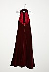 Thumbnail View 4: Vintage 1970s Velvet Party Dress