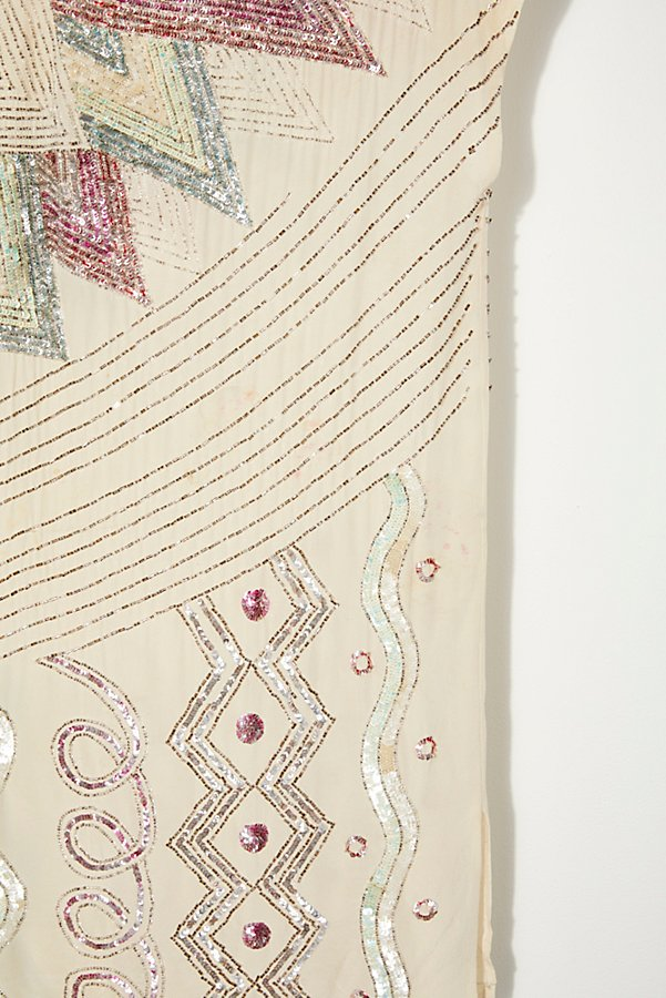 Slide View 5: Vintage 1980s Beaded Dress
