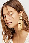 Thumbnail View 1: Windchimes Brass Earring