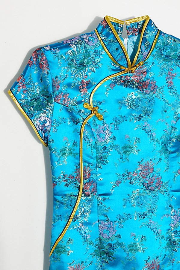 Slide View 2: Vintage 1980s Silk Pajama Dress