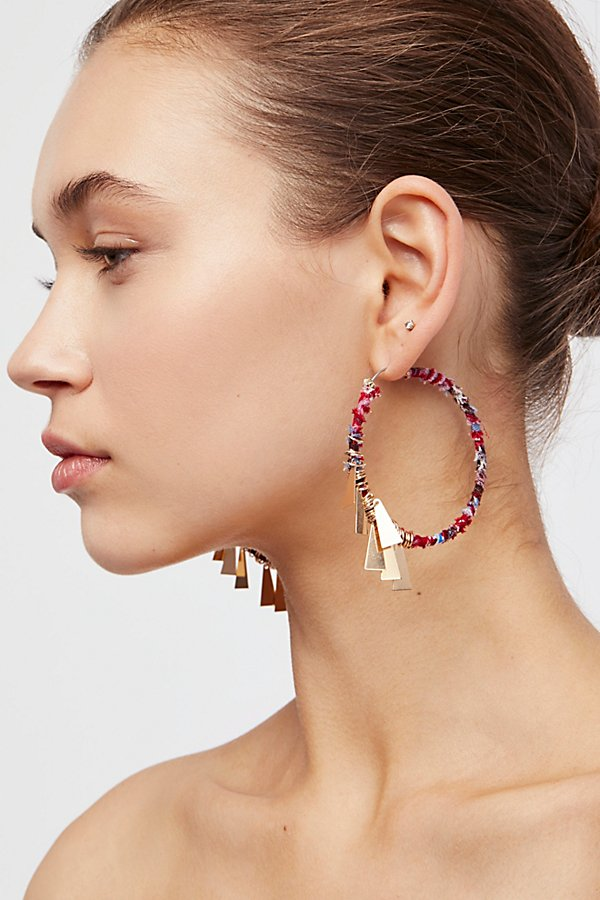 Slide View 1: Fabric Wrapped Hoops