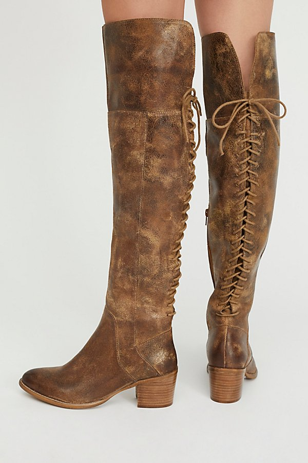 Slide View 4: Easton Lace Back Boot