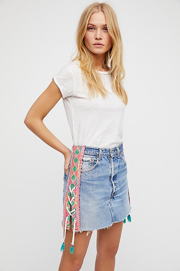 Slide View 1: Levi's Lace Up Skirt