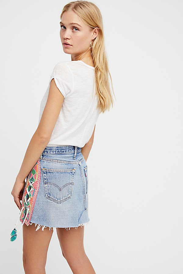 Slide View 2: Levi's Lace Up Skirt