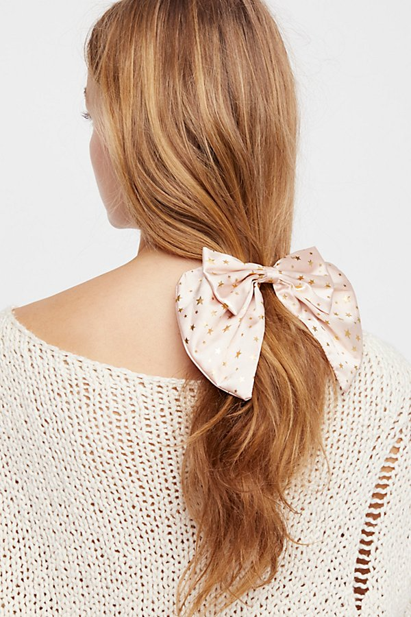Slide View 1: Star Bow Barrette
