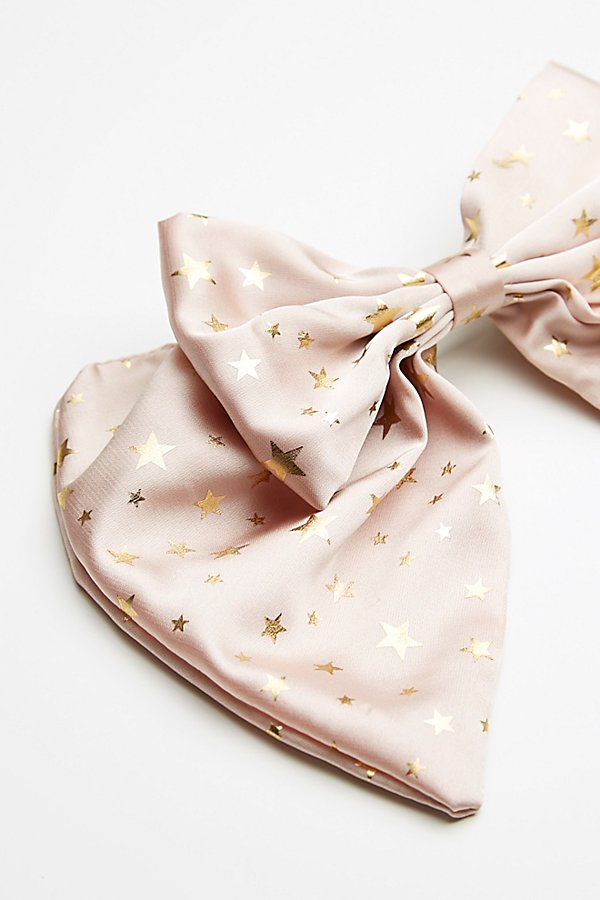 Slide View 3: Star Bow Barrette