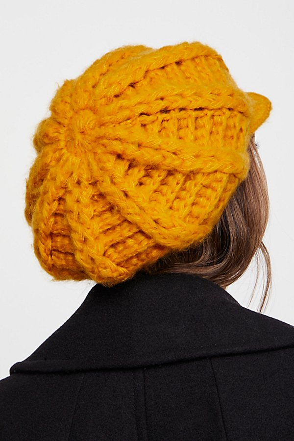 Slide View 3: Close Knit Slouchy Cap