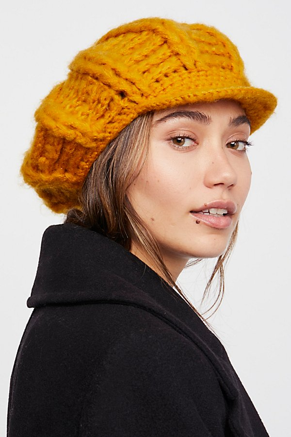 Slide View 1: Close Knit Slouchy Cap