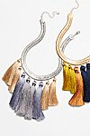 Thumbnail View 1: Multi Tassel Collar