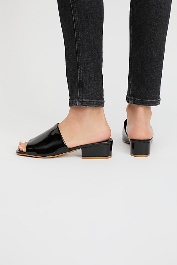 Slide View 4: Vegan Ashley Block Heel