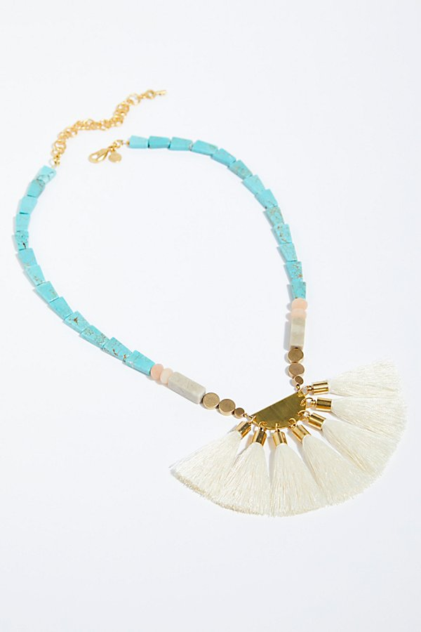 Slide View 2: Beach Walks Tassel Pendant