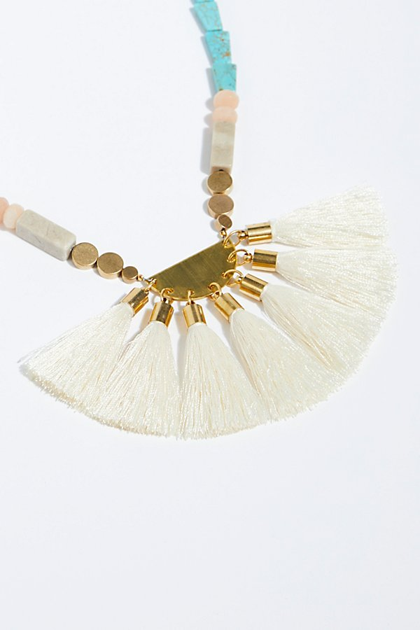 Slide View 3: Beach Walks Tassel Pendant