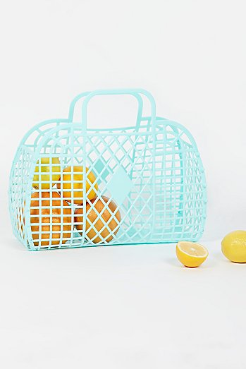 Large Retro Basket