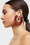 Thumbnail View 1: Fanned Fringe Hoops