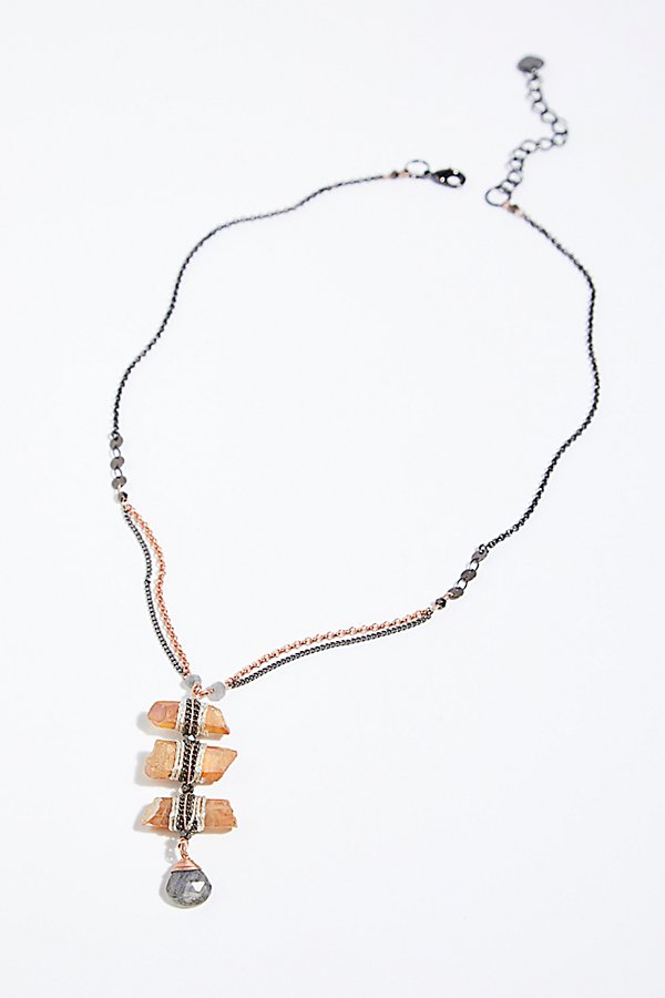 Slide View 2: Washed Ashore Ladder Necklace