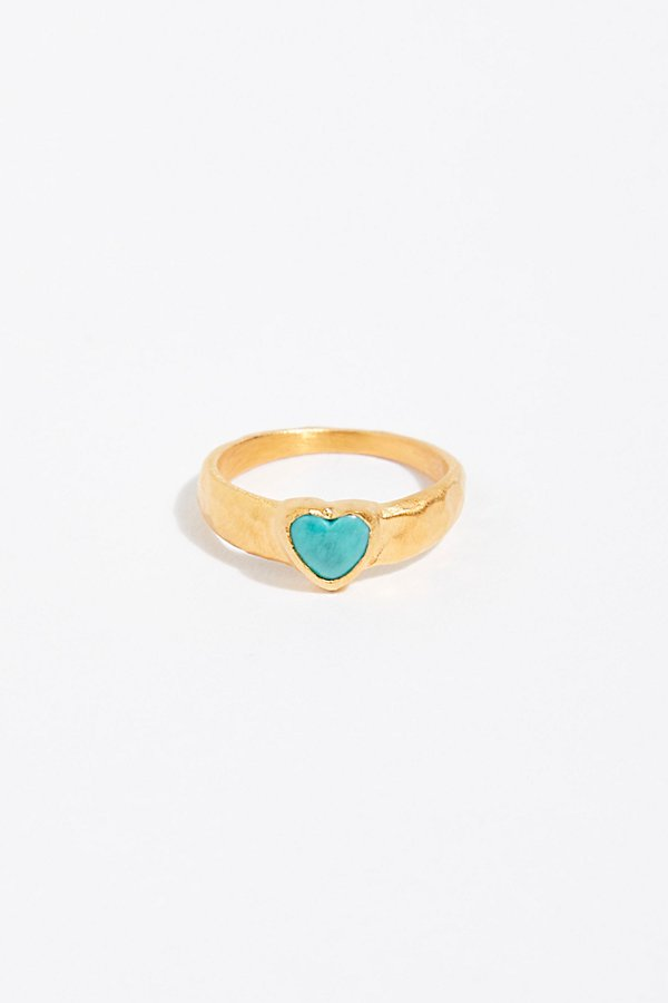 Slide View 1: Stone Charm Ring