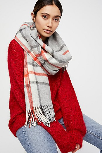 Big Sky Plaid Scarf