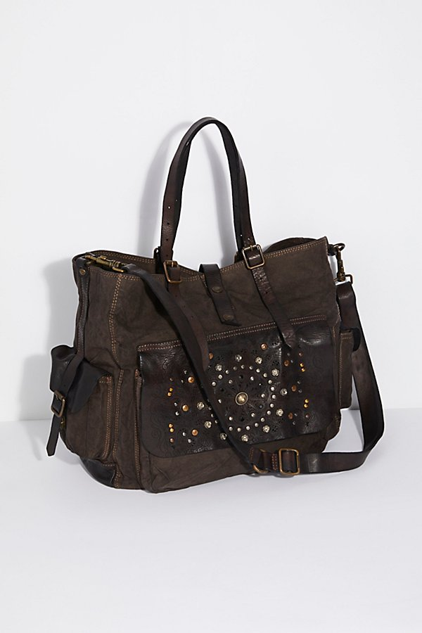 Slide View 1: Messina Distressed Tote