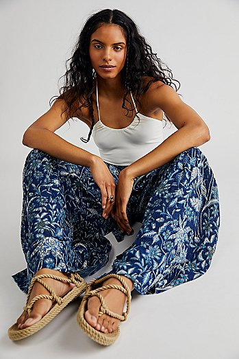 FP One Aloha Printed Wide Leg Pants