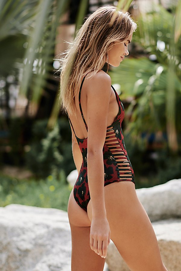 Slide View 2: Hermosa One-Piece Printed Swimsuit