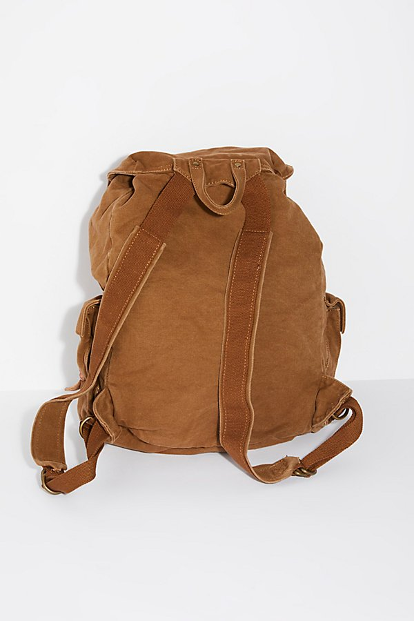 Slide View 4: Columbus Distressed Backpack