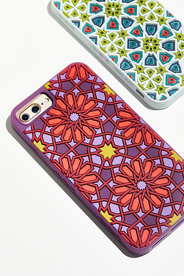 Slide View 1: Kaleidoscopic Silicone Case